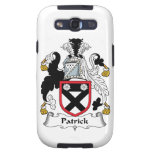 Patrick Family Crest Samsung Galaxy S3 Cover