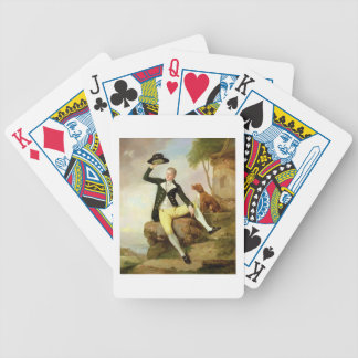 Patrick Heatly, c.1783-87 (oil on canvas) Bicycle Playing Cards