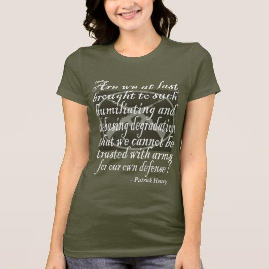 Patrick Henry 2nd Amendment Quote T-Shirt