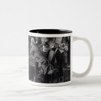 Patrick Henry addressing the Virginia Assembly Two-Tone Coffee Mug