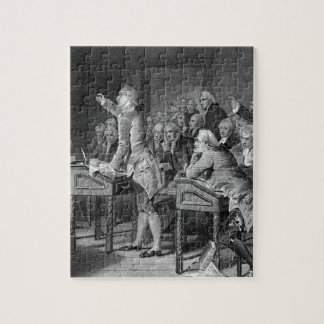 Patrick Henry Addressing the Virginia_War Image Jigsaw Puzzle