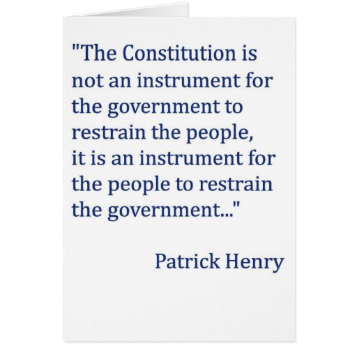 """the patriotic quote of patrick henry Great patriotic quotes 01 mar, 2012 by john hawkins — patrick henry """"when i die, i desire no better winding sheet than the stars and stripes."""
