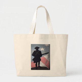 PATRICK HENRY QUOTE 2.0 LARGE TOTE BAG