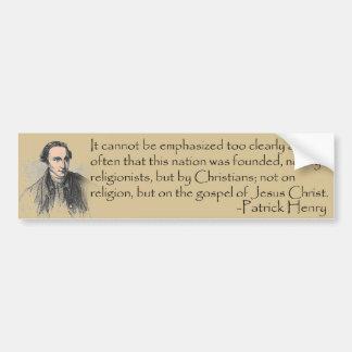 Patrick Henry Sticker