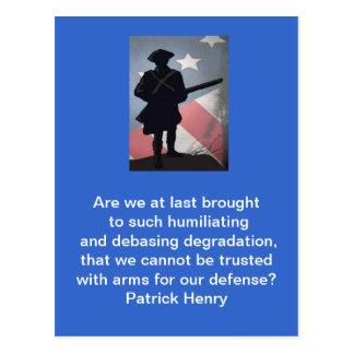 PATRICK HENRY POSTALES