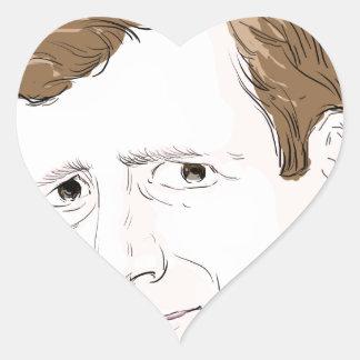 Patrick Kennedy Heart Sticker