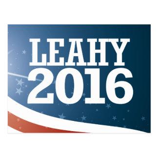 Patrick Leahy 2016 Postcard