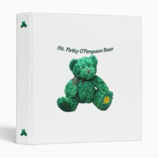 Patrick O'Ferguson Green Bear Binder