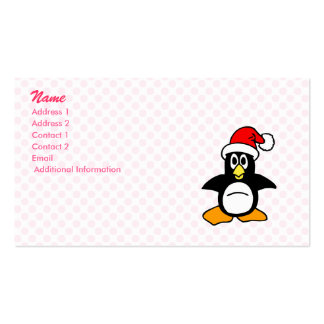 Patrick Penguin Business Card