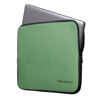 Patrick's laptop bag