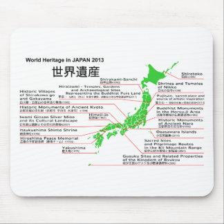 Patrimonio mundial en JAPÓN 2013 montaña FUJI Alfombrillas De Ratones