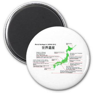 Patrimonio mundial en las islas 2012 de JAPÓN Ogas Imán Para Frigorifico