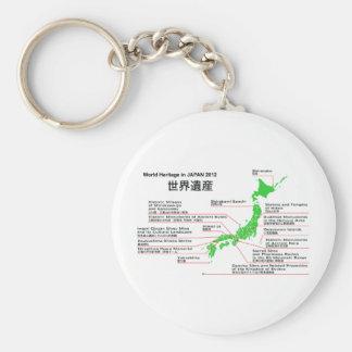 Patrimonio mundial en las islas 2012 de JAPÓN Ogas Llavero