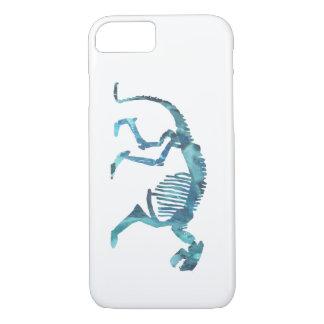 Patriofelis skeleton iPhone 7 case
