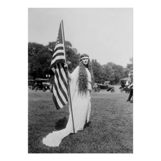 Patrioric 4th of July on the Ellipse: 1919 Posters