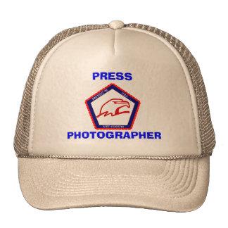 PATRIOT76, PHOTOGRAPHER, PRESS TRUCKER HAT