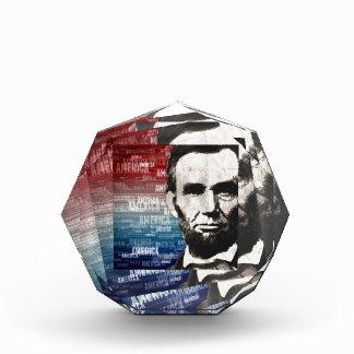 Patriot Abraham Lincoln Acrylic Award