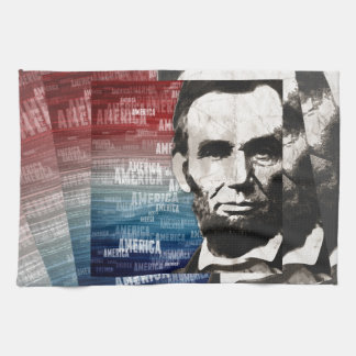 Patriot Abraham Lincoln Hand Towel