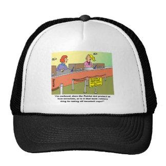 PATRIOT ACT / BANK ROBBERY TRUCKER HAT