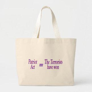 Patriot Act = los terroristas ganados Bolsa