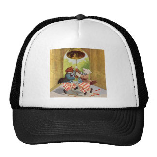 Patriot Bears Ring the Liberty Bell Trucker Hat