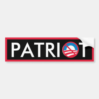 Patriot Bumper Sticker