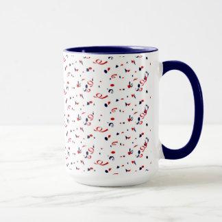 Patriot Confetti Mug