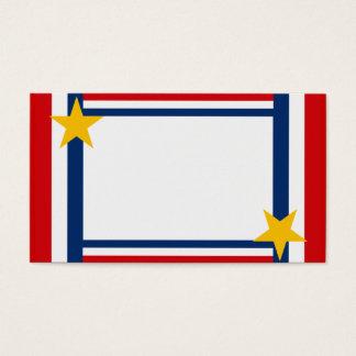 Patriot Customizable Business Cards