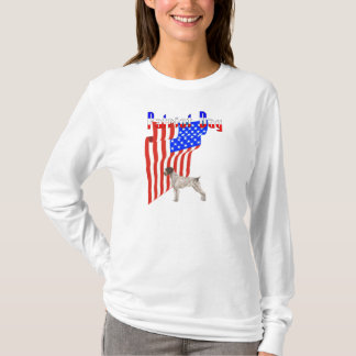 Patriot Day German Wirehaired Pointer T- Shirt