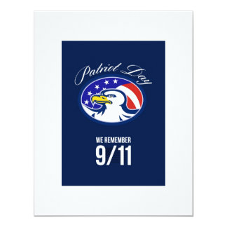 Patriot Day We remember 911 Poster Card