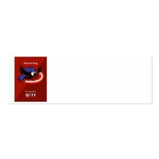 Patriot Day We Remember 911 Poster Card Business Cards