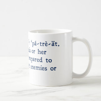 Patriot Defined Coffee Mug