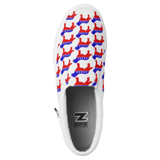 Patriot Dog Shoes Printed Shoes