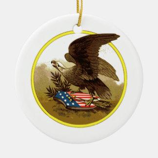Patriot Eagle Ornament