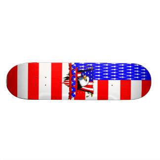 Patriot Eagle Side View Skateboard