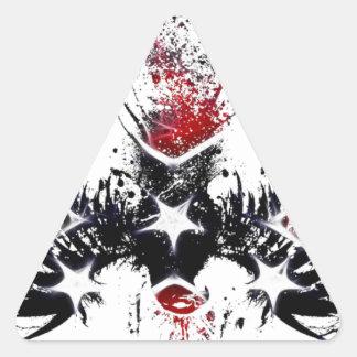patriot eagle triangle sticker