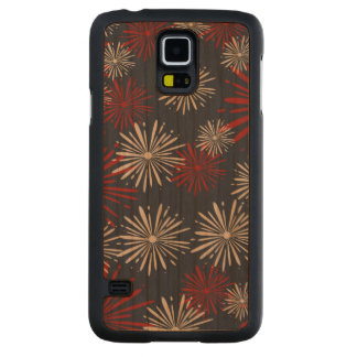 Patriot Fireworks Carved Cherry Galaxy S5 Case