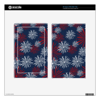 Patriot Fireworks Kindle Fire Skins