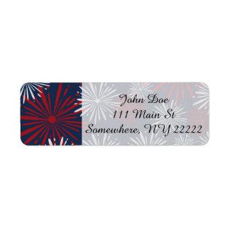 Patriot Fireworks Label
