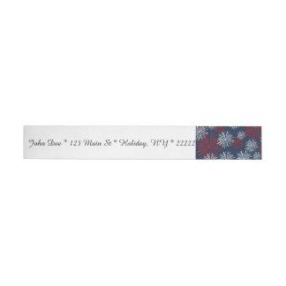 Patriot Fireworks Wrap Around Address Label