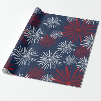 Patriot Fireworks Wrapping Paper