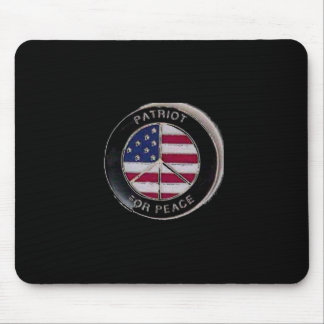 Patriot For Peace Mouse Pad