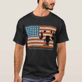 Patriot Friend of Dogs at Guadalupe County AC BLK T-Shirt