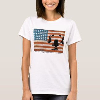 Patriot Friend of Dogs at Guadalupe County AC W/Wh T-Shirt