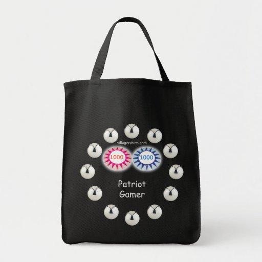 Patriot Gamer Pinball Tote Bag