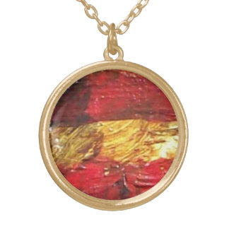 Patriot Gold Plated Necklace