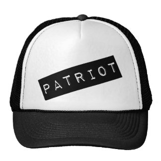 Patriot Label Trucker Hat