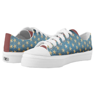 Patriot Low Top Shoes Printed Shoes
