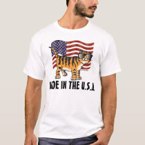 Patriot Made in the USA CAT T-shirts, Funny T-Shirt