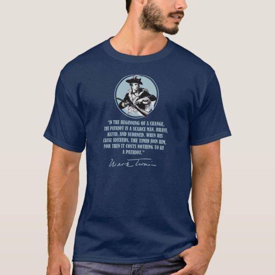 Patriot -Mark Twain T-Shirt